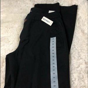 """black """"work"""" pants"""